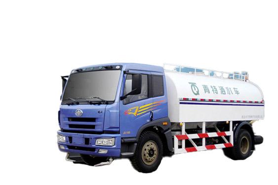 青岛解放QDT5120GSSC洒水车高清图 - 外观