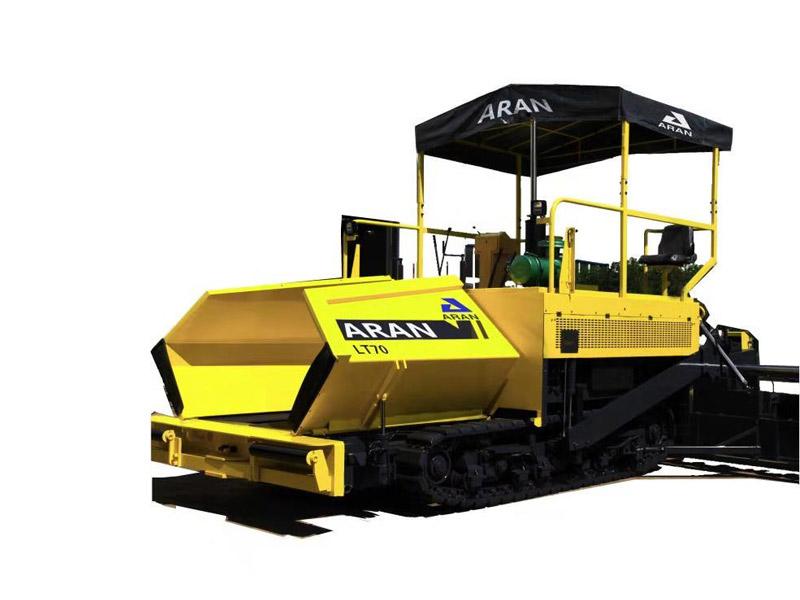 镇江阿伦LT70 履带式沥青混凝土摊铺机高清图 - 外观