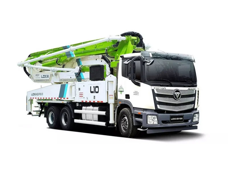 雷萨重机BJ5359THB-XD(L10-56米)泵车