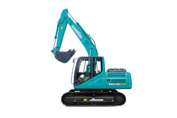 山河智能SWE135E-3H中型挖掘机