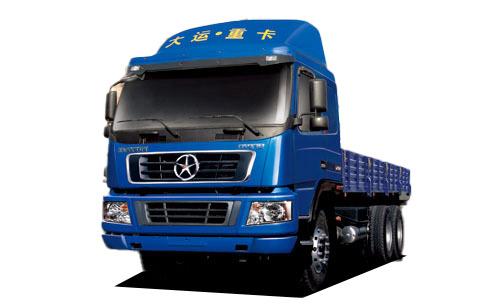 大运DYX1250平板载货车高清图 - 外观