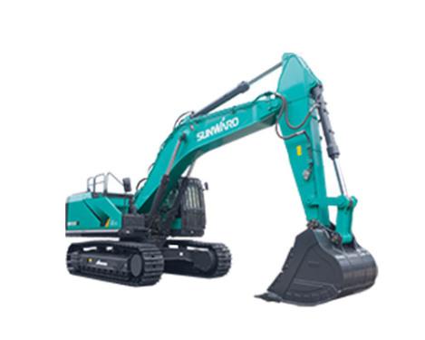 山河智能SWE550F大型挖掘机