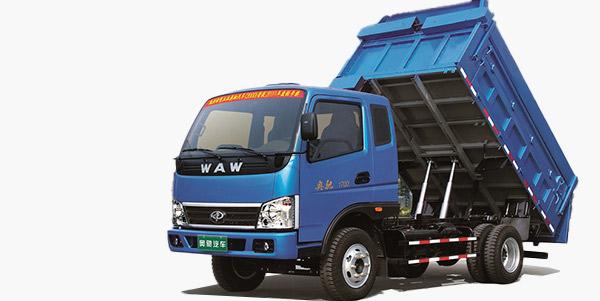 奥驰汽车奥驰自卸式垃圾车高清图 - 外观