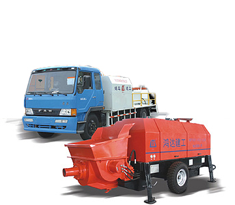 鸿达HBT100S2116-181拖泵高清图 - 外观