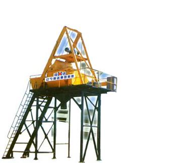 海诺JS1000混凝土简易搅拌站高清图 - 外观