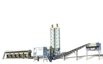 鴻達WCB300模塊式穩定土廠拌設備