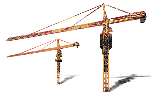 鸿达QTZ40A塔式起重机高清图 - 外观