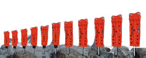韩泰四角型标准破碎锤高清图 - 外观