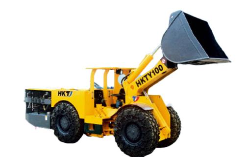 恒康HKTY-100柴油装载机高清图 - 外观
