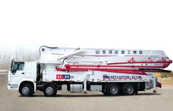 鸿达HDT5420THB-52/5泵车
