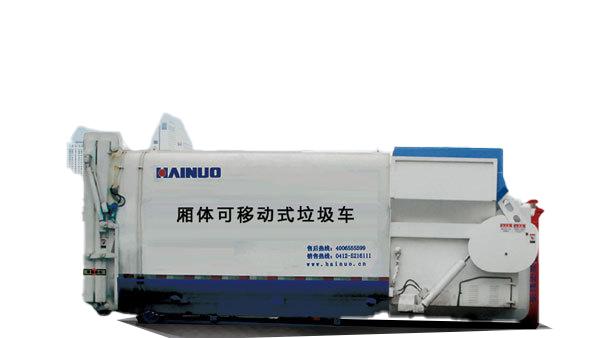 海诺LPC20一体式垃圾压缩站高清图 - 外观