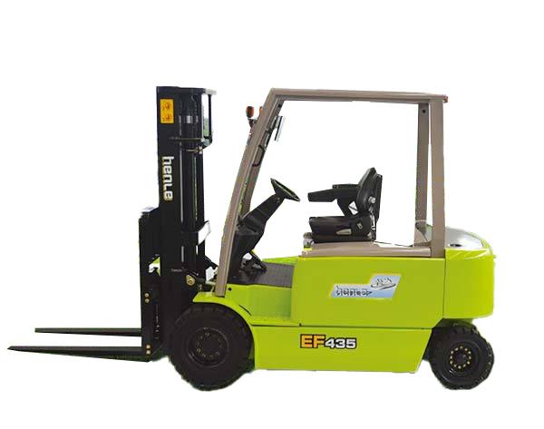 恒叉EF430蓄电池平衡重式叉车高清图 - 外观