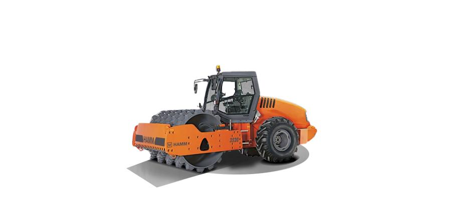 悍马3520 单钢轮压路机(TIER 3 排放标准)高清图 - 外观