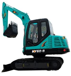 开元KY60A液压挖掘机