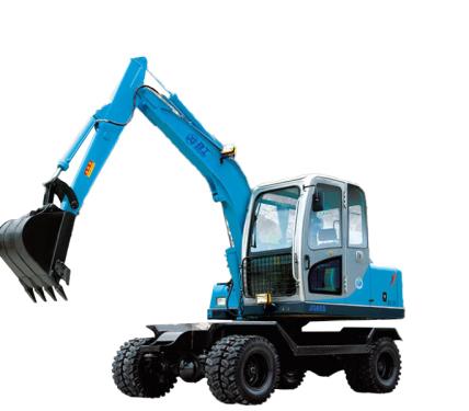 劲工65S轮式挖掘机
