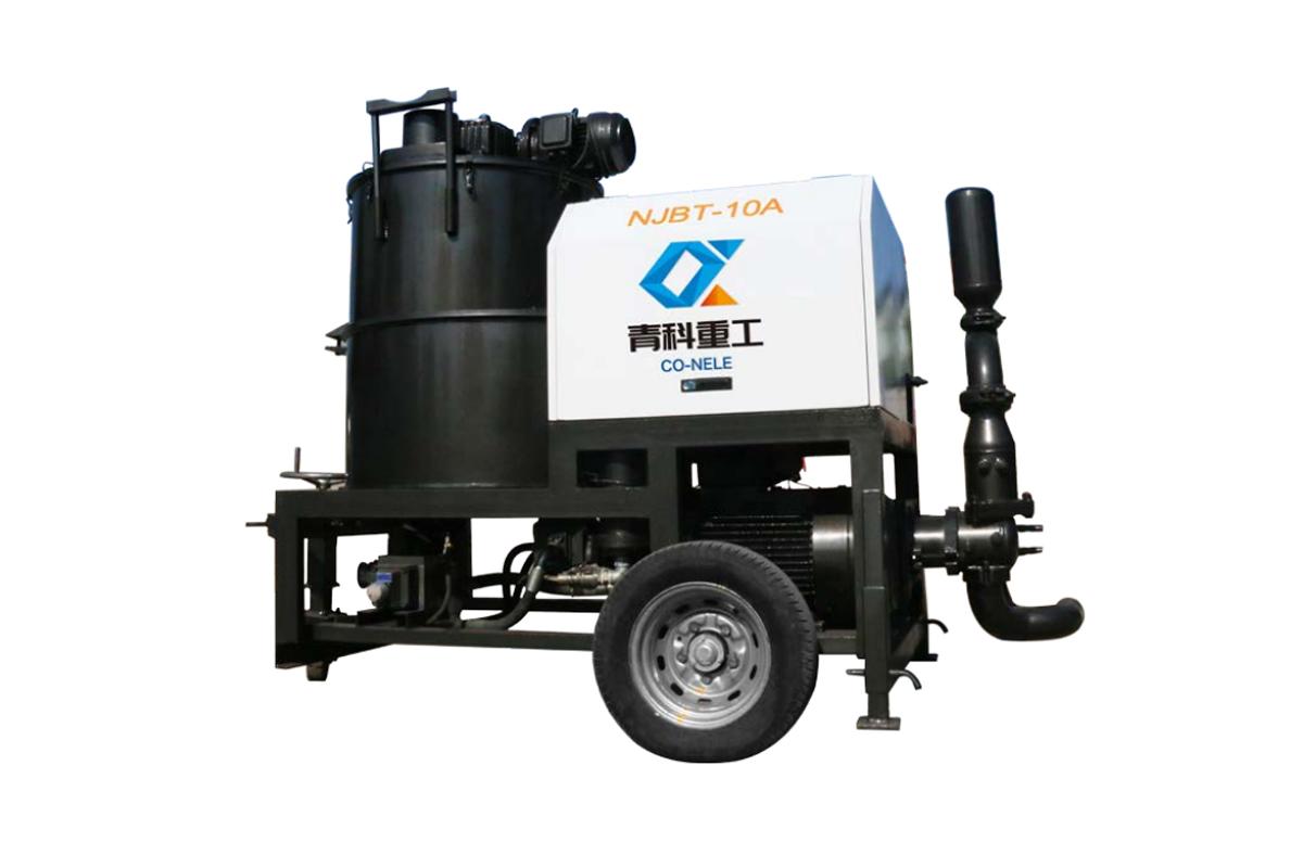 青科重工NJBT-10A灌浆泵高清图 - 外观