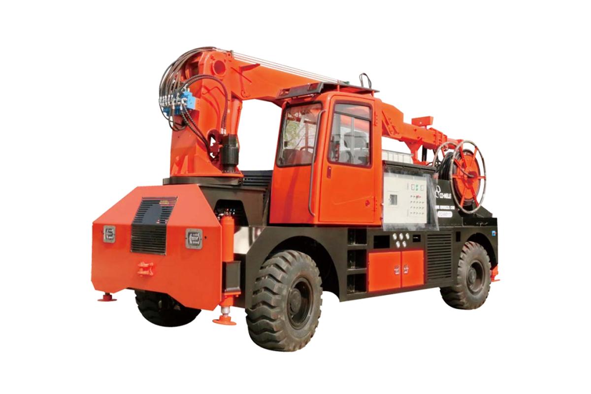 青科重工QZHP-3016B混凝土湿喷台车高清图 - 外观