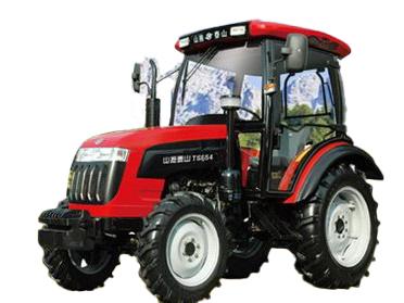 山拖TS550轮式拖拉机高清图 - 外观