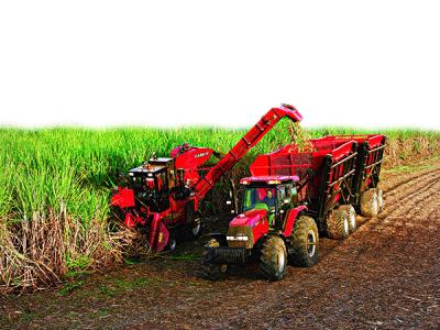 凯斯纽荷兰4000甘蔗收获机高清图 - 外观