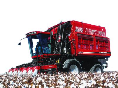凯斯纽荷兰Cotton Express 420采棉机高清图 - 外观
