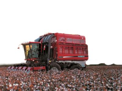 凯斯纽荷兰Cotton Express 620采棉机高清图 - 外观