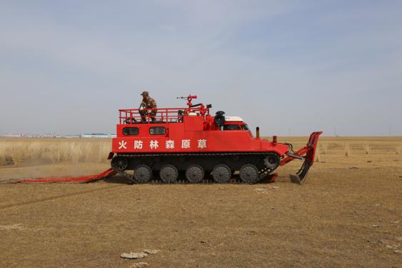 江麓CF-16履带式草原消防车