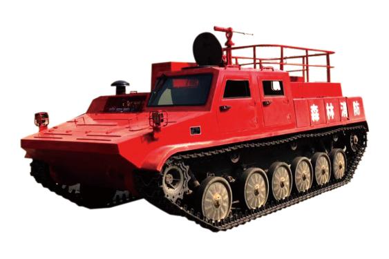 江麓SXD13履带式森林消防车