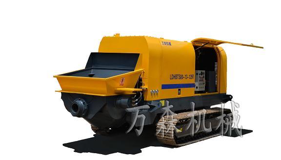 新赛机械LDHBTS80-13-129R履带柴油泵高清图 - 外观