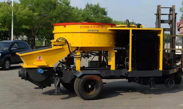 新賽機械LJBS40-10-45立軸攪拌一體機電動泵高清圖 - 外觀