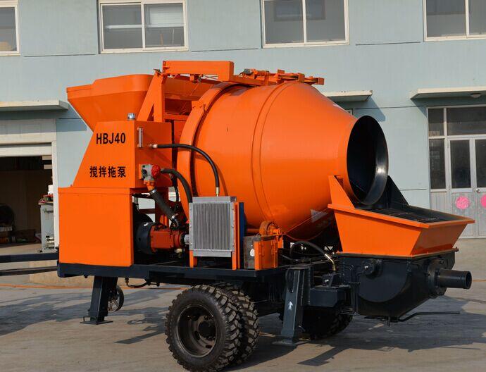 新賽機械JBS40-10-45拖泵高清圖 - 外觀