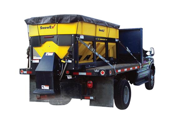 易路美5立方车载式融雪洒布机