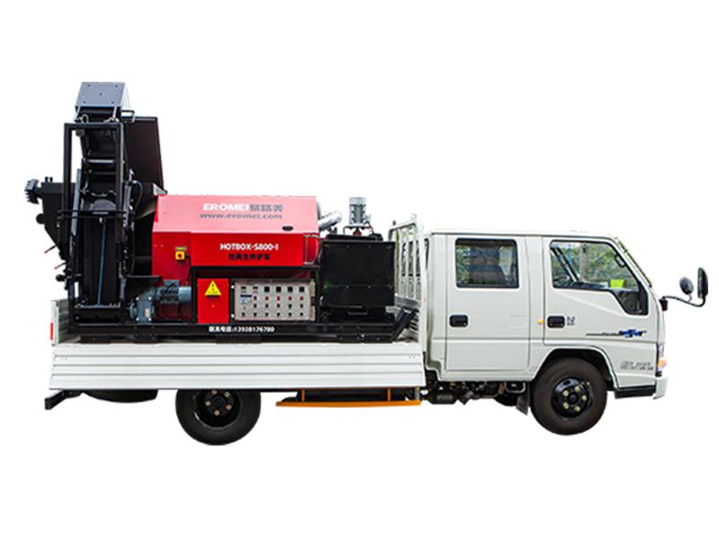 易路美HOTBOX-S800热再生综合养护车(分体式)高清图 - 外观