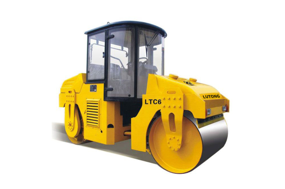 洛阳路通LTC6D双钢轮振动压路机