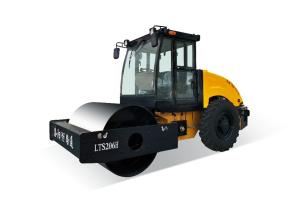 洛阳路通LTS208H-Ⅱ全液压单钢轮振动压路机