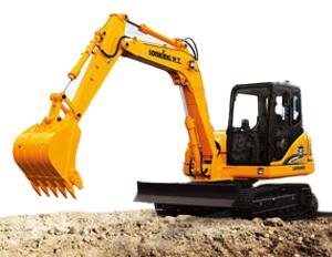 龙工LG6085挖掘机高清图 - 外观
