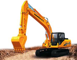 龙工LG6215D挖掘机高清图 - 外观