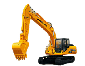 龙工LG6225D挖掘机高清图 - 外观