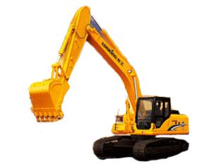 龙工LG6235挖掘机高清图 - 外观