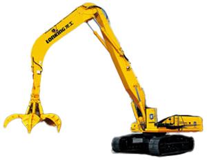 龙工LG6400Z挖掘机高清图 - 外观
