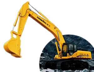 龙工LG6490挖掘机高清图 - 外观