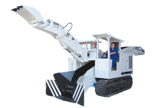 蓝翔重工ZWY-120/58lL WDZL-120扒装机高清图 - 外观