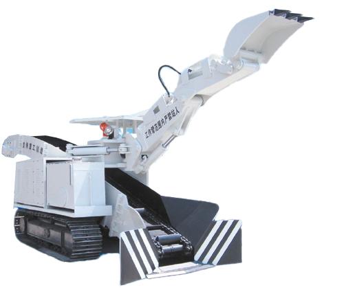 蓝翔重工ZWY-80/48L. WDZL-80扒装机高清图 - 外观