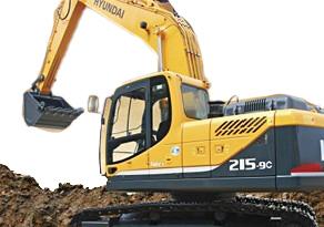 现代重工R215-9C挖掘机