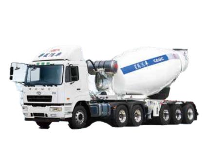 星马AH9400GJB1牵引半挂系列 混凝土搅拌车