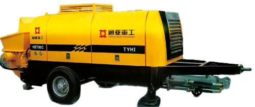 通亚汽车HBT90C-1813-110S拖泵高清图 - 外观