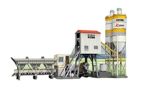 徐工HSZ60KG混凝土攪拌站高清圖 - 外觀