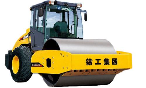 徐工XS202E全液压单钢轮压路机高清图 - 外观