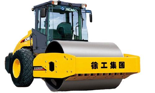 徐工XS203E全液压单钢轮压路机高清图 - 外观