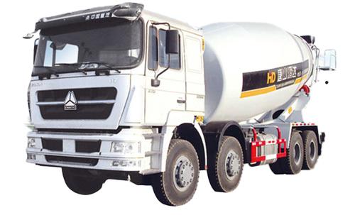 唐鸿重工XT5318GJBH736豪卡搅拌运输车高清图 - 外观
