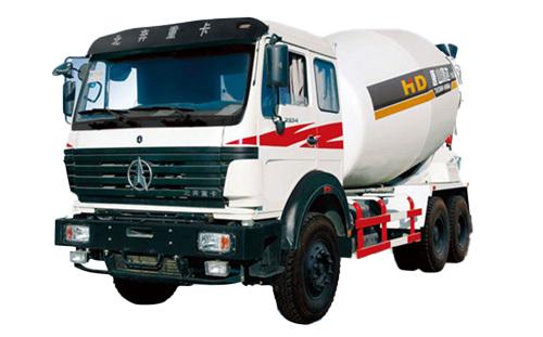 唐鸿重工XT5250GJBND41J北奔系列搅拌运输车高清图 - 外观